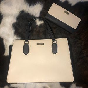 Kate spade medium satchel and wallet set